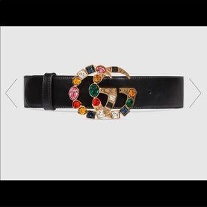 Gucci Multi stone belt plus bonus earrings